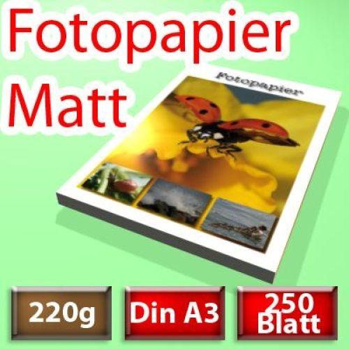 220g Spezial-Papier Din A3, 250 Blatt