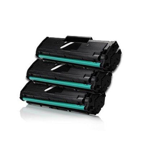 3 x Toner XXL alternativ zu Samsung MLT-D101S / ML-2165 | black