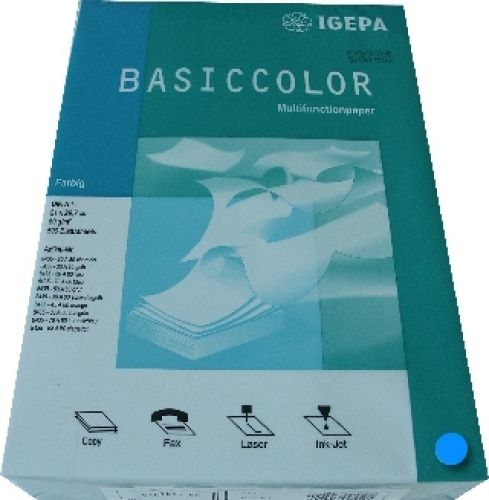 Multifunktionspapier intensivblau A4 160g 250 Blatt