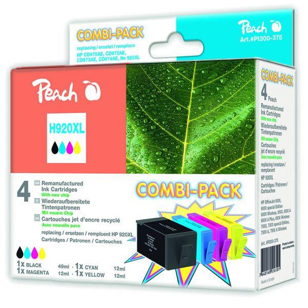 Druckerpatronen Peach Combi-Pack H920XL