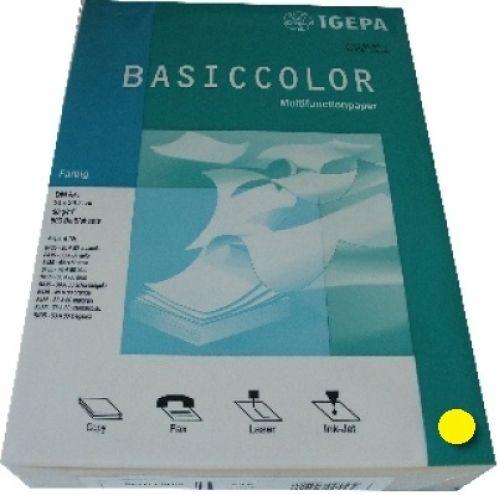 Multifunktionspapier intensivgelb A4 80g 500 Blatt