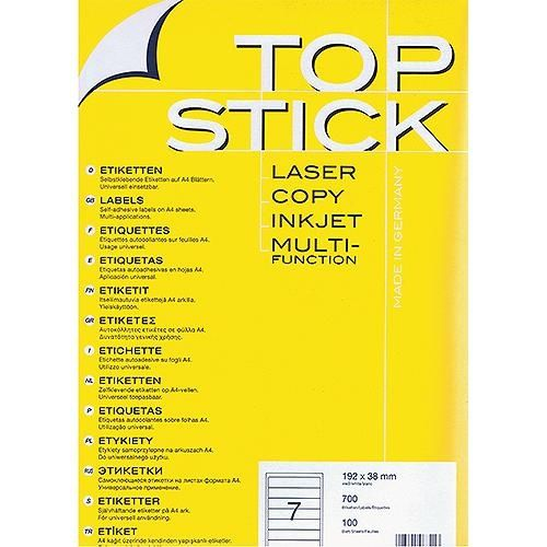 Etiketten 192x38 mm , 700 St. Packung