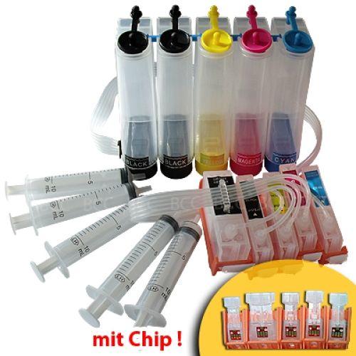 CISS Dauerdrucksystem CKiP4200 + 100ml-Tinten