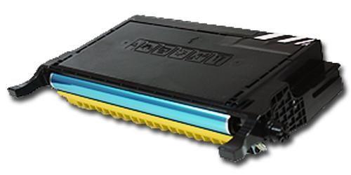 Toner XXL alternativ zu Samsung CLP-Y660B / CLP-610/660   yellow