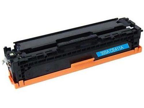 Toner Cyan Alternativ für HP-Drucker, ersetzt HP CE411A