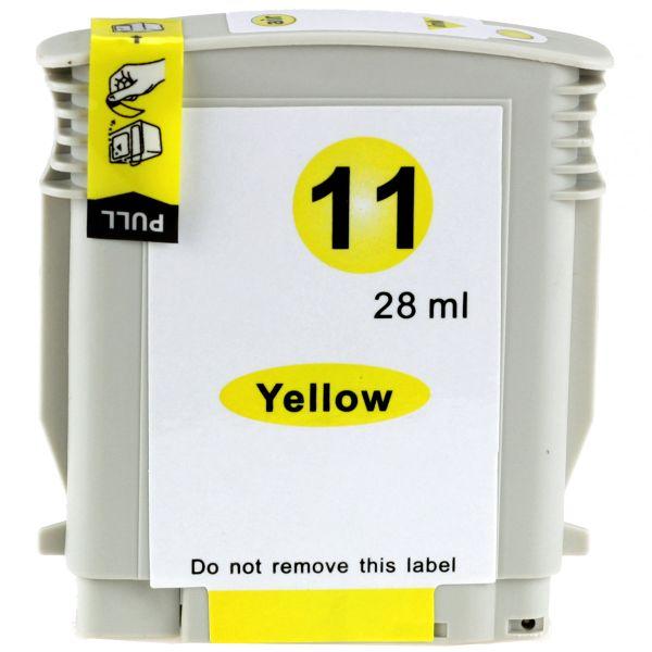 Druckerpatrone Typ 11, yellow, 28ml, H11YErw