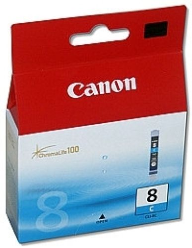 Original Canon Cyan Tintenpatrone Nr. 8, CLI-8C