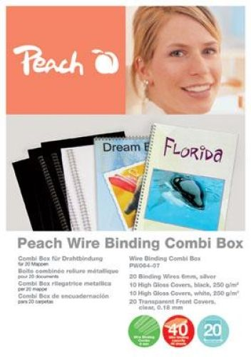 Peach Drahtbinde-Set PW064-07