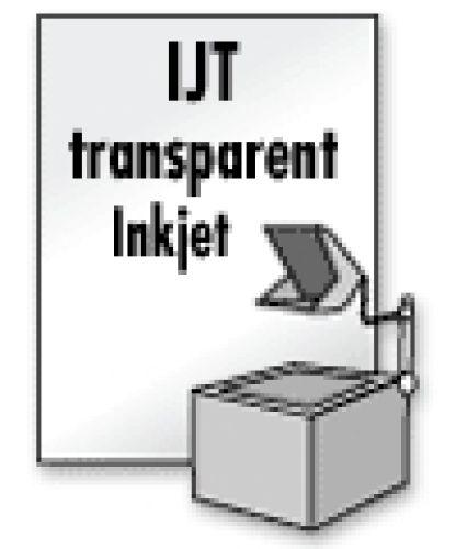 Overheadfolie f. Inkjet-Drucker, 50 Blatt