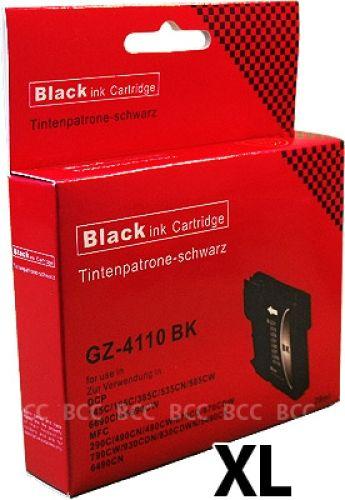 Druckpatrone XXL für Brother, Typ BK980/1100XLBK, black