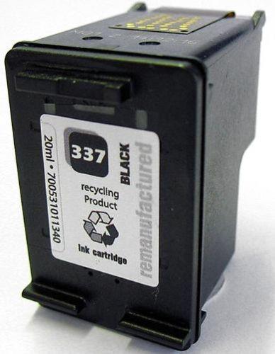 Druckerpatrone Typ 337, black, 18ml, H337rw
